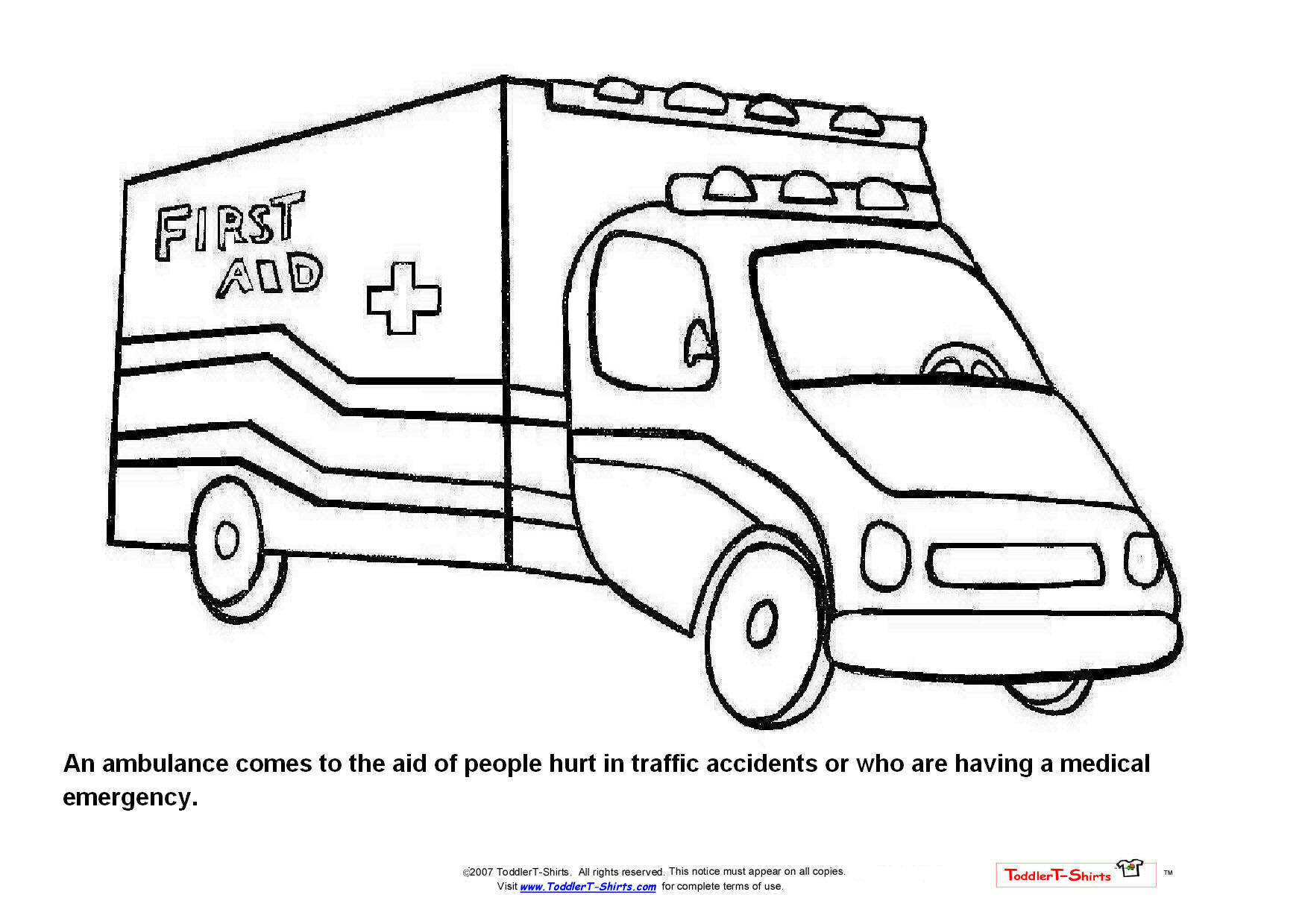 free coloring pages fire engines - photo#13